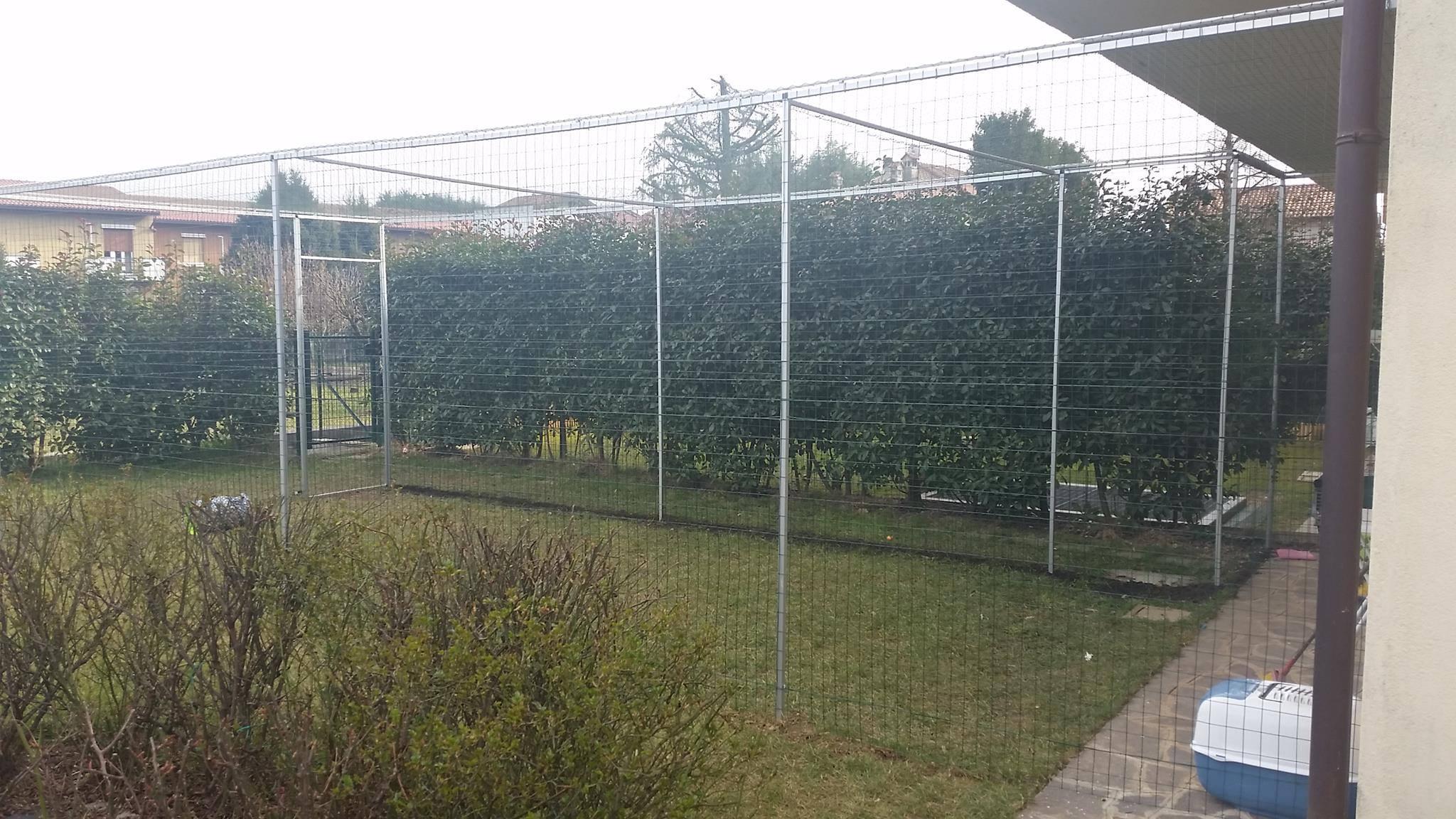 Reti protettive per giardini safetycat - Recinti per giardini ...