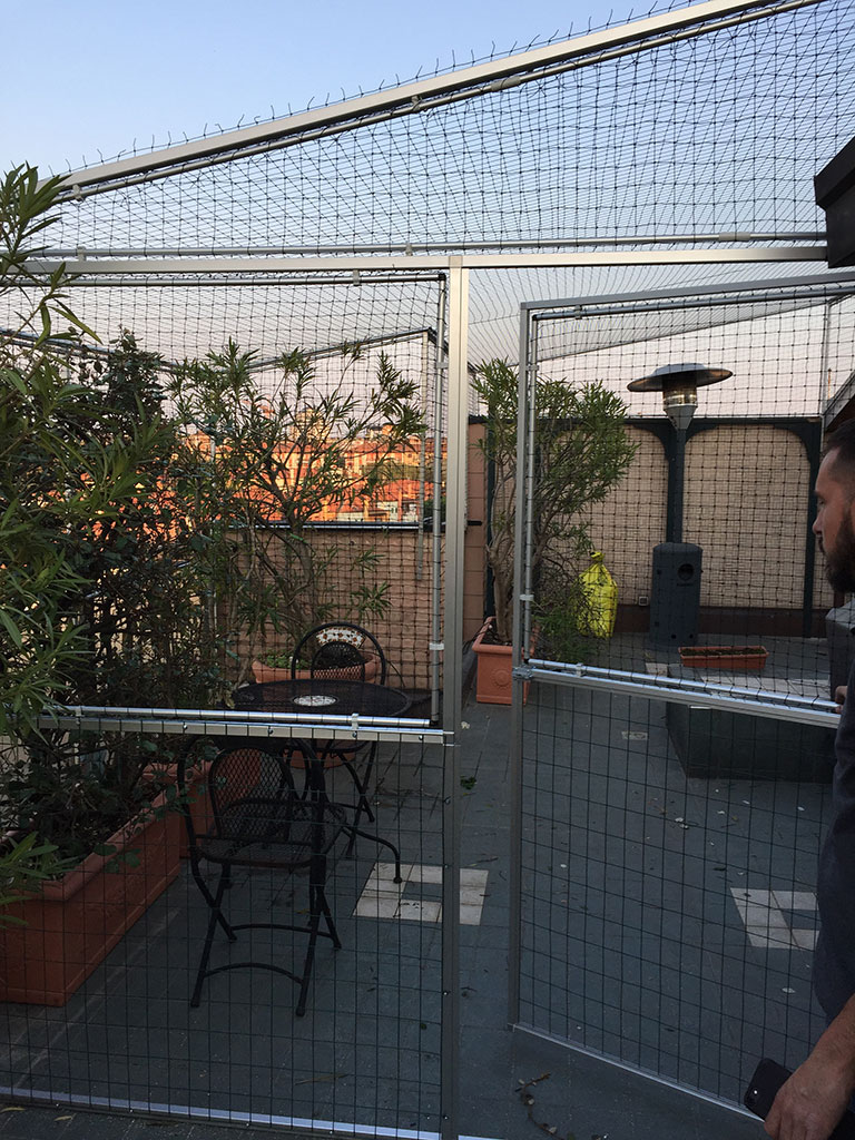 Rete Per Gatti Condominio reti protettive per terrazzi - safetycat